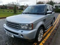 RANGE ROVER SPORT HSE 2.7TDV6 AUTO 2008 LOW MILEAGE, IMMACULATE.