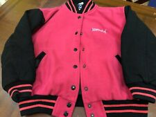 Girls Pink American Girl Button Up Jacket Medium