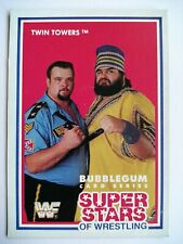 WWF Superstars of Wrestling Cards 1989 - Series 3 - #14 Twin Towers