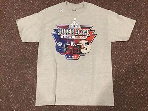 New York Giants T-Shirt Super Bowl Champions XLVI VS. Patriots 2012 Mens Size L
