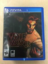 The Wolf Among Us Ps Vita ( damaged cover)
