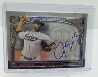 2016 Topps Museum Collection Archival 061 /125 James Shields #AA-JS Auto