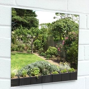 Square Garden Mirrors - Several Sizes Available - Free UK P&P