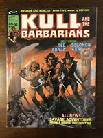 Kull And The Barbarians # 3 Curtis Magazine 1975 Conan Red Sonja