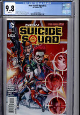 1st App New KGBeast NEW SUICIDE SQUAD #2 (2014) THE NEW 52 DC CGC 9.8