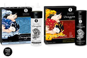 Shunga Dragon Cream Male Female Orgasm Cream Lube for COUPLES COUPLES 2 FL OZ