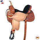 C-Z-14 14 Western Horse Saddle American Leather Barrel Flex Tree Trail Hilason