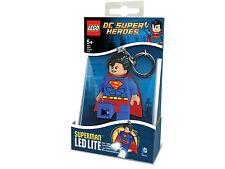 LEGO Superheroes Superman LED Light Keychain Key Chain #5002913 ***CLEARANCE***