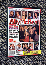 ALLY MCBEAL FACES ON TV MAGAZINE! Calista Flockhart Jane Krakowski missing 3 pgs