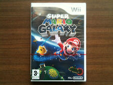 """""""Super Mario Galaxy"""" Nintendo Wii Game NEW/FACTORY SEALED (PAL)"""