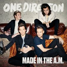 ONE DIRECTION MADE IN THE A.M. CD ALBUM (November 13 2015) (BRAND NEW & SEALED)