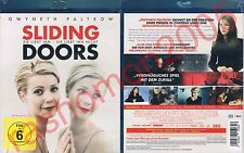 Blu-Ray SLIDING DOORS Gwyneth Paltrow John Hannah Jeanne Tripplehorn Region B/2
