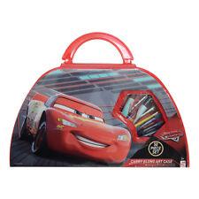 Giocattolo per bambini set Valigetta Cars kit 41pz pennarelli colori acquerelli