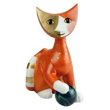 Varo Rosina Wachtmeister Cat Figurine 31186133 Goebel H 17 cm Arcobaleno