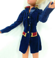 "Doll Clothes fit 9"" Skipper dolls Genuine Barbie Label Blue Jacket Lot #535"