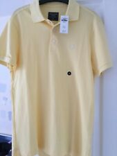 Mens Abercrombie & Fitch Polo Shirt - Size Medium - Brand New With Tags