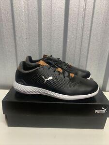 puma ignite pwradapt golf shoes Brand New U.K. 9  Black