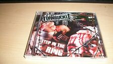 EAT THE TURNBUCKLE STEP IN THE RING CD SHLAK BAD LUCK 13 NYHC PAHC WWE GCW