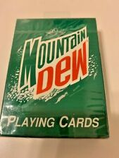 Mountain Dew Playing Cards Poker Deck sealed cards