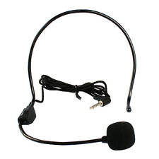 Wired Hands Free Headset Microphone Mic system Megaphone Speaker Teacher
