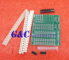 5PCS Skill Training SMD SMT Components Practice Board Shield Kit For DIY