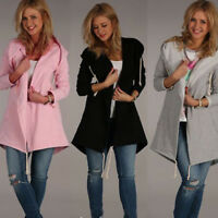 Women Autumn&Winter Hoodie Sweatshirt Jumper Sweater Hooded Pullover Tops NEW