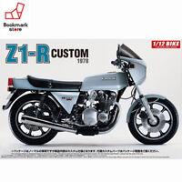 NEW Aoshima 1/12 BIKE Kawasaki Z1-R with Custom Parts Plastic Model Kit from JPN