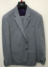 Paul Smith Suit Grey Check - LONDON Tailored Fit Cotton Suit 42R RRP £697