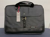 Brenthaven Collins Slim Briefcase with Padded Pockets | Graphite
