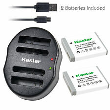 Kastar NB-6L Battery Charger for Canon PowerShot S120 SX170 IS SX240 HS SX260 HS