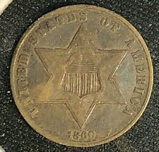 1860 3 Cent Silver