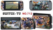 Nintendo Switch Console Joy-Con Skin Sticker Cover #712 a F01