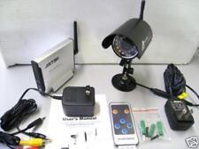 Home Surveillance Wireless Camera + Receiver + Remote Control Set