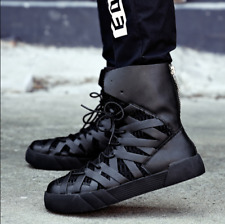 997567ca0b0 Mens Lace Up Ankle Boots British Military Shoes Winter Warm Flat Heels  Fashion L