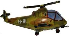 Military Helicopter 26 Inch Foil Balloon