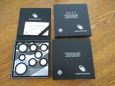 2017 Limited Edition Silver Proof Set with Low Mintage 2017 S Silver Eagle Proof