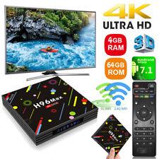 New H96 Max-H2 Android 7.1 Smart TV Box 4GB+64GB Quad Core 4K Wifi Media Player