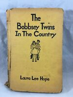 Vintage Undated The Bobbsey Twins In The Country Book Laura Lee Hope Goldsmith