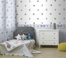 Kinderzimmer Tapeten Borte Disney Micky Maus hellblau blau K3523-1 (28,83€/1qm)
