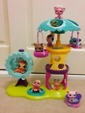 Hasbro Littlest Pet Shop LPS Playtime Park Playset + 9 Pets