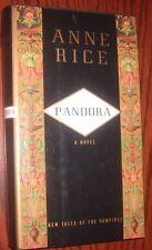 "~ 1st Trade Edition ~ Anne Rice ~ ""PANDORA"" ~ 1998"