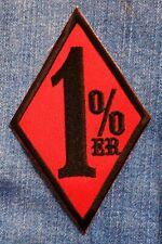 Aufnäher Patch Biker 1 % Prozent Aufbügler Motorrad Weste Jacke Kutte Highway