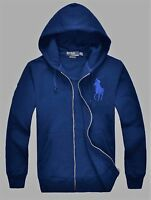 NWT Mens Ralph Lauren Polo Big Pony Hoody Jacket Small Medium Large XL 2XL