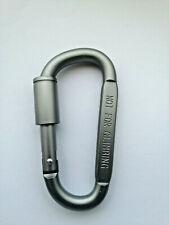 Aluminium Carabiner D-Ring Spring Clip Camping Hiking