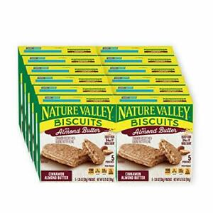 Nature Valley Biscuits Almond Butter 5 ct 6.75 oz