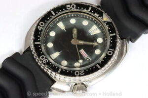 Seiko 17 jewels Turtle Divers 6309-7040 automatic - Serial nr. 179626