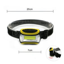 COB LED Headlamp Headlight Head Lamp Light Torch Flashlight Portable 4 Modes AAA
