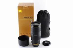 [Mint In Box] Nikon AF-S NIKKOR 70-200mm F/4 G ED VR Lens From Japan