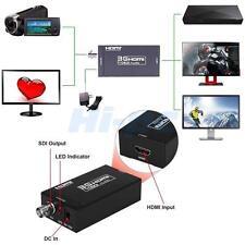 1080P 3G HDMI to SDI Converter Adapter BNC SDI/HD-SDI/3G-SDI 2.970 Gbit/s US