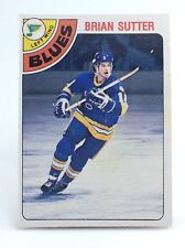 1978-79 Brian Sutter #319 St Louis Blues OPC O Pee Chee Ice Hockey Card H388